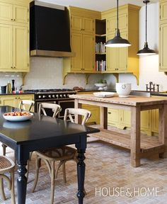 Photo Gallery: Top 10 Colourful Kitchens | House & Home
