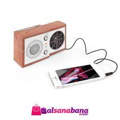 Mini Hoparlör - Boombox Plajda, arabada, ofiste, evde nerede müzik istersen hoparlörünü bağlaman yeterli.