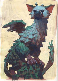 Trico, Edward Delandre on ArtStation at https://www.artstation.com/artwork/xKzNR