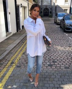onlypuff Pocket Shirts for Women Casual Loose Fit Tunic Top Baggy Comfy Blouse Mode Outfits, Fashion Outfits, Womens Fashion, Woman Outfits, Fashion Trends, Fashion Killa, Look Fashion, Winter Fashion, Classy Outfits
