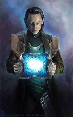 Loki Fan Art From http://annikeandrews.deviantart.com/art/Loki-again-312593512