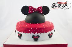 Full P - sweets & parties: Torta de Minnie para Josefina