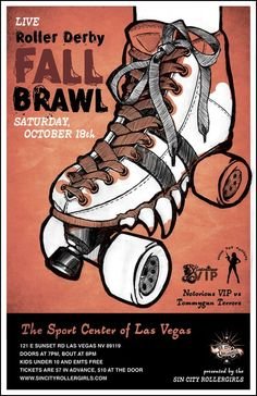 roller derby posters – Google Search