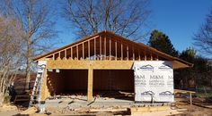 #framing #roofing #detachedgarage #newconstruction #mikefourniertulsa #sonriseconstruction Pics 3 of 8  Can we build one for you?  http://www.sonrise-construction.com/services/garages.asp