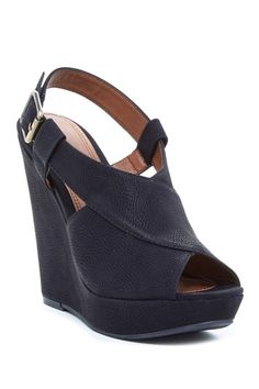 Mindy Platform Wedge Sandal by Chinese Laundry on @HauteLook