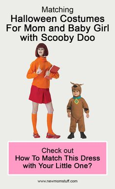 Matching Halloween Costumes For Mom and Baby Girl with Scooby Doo Check out how to match this dress with your little one by clicking the link? matching_halloween_costumes_for_mom_and_baby_girl Scooby Doo Costumes, Mom Costumes, Pregnancy Stages, Pregnancy Tips, Matching Halloween Costumes, Newborn Schedule, Baby Care Tips, Baby Development, Mom Advice