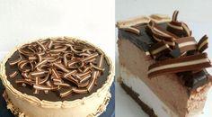 Úžasná nepečená torta s Nutellou, ktorú si zamilujete - chillin. Nutella, Cheesecake, Good Food, Food And Drink, Pie, Cupcakes, Sweets, Candy, Chocolate