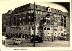 Muellerstrasse Ecke Seestrasse Wedding in den 50ern