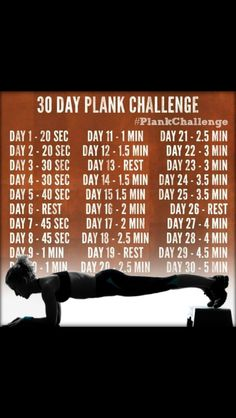 Plank challenge @Kimberly Peterson Peterson Peterson Wright