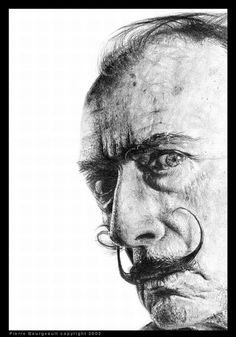 Great Pencil Drawings of famous people