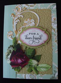 Made using Anna Griffin's Garden Window card kit.