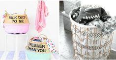 4 DIY para hacer cestas para la ropa