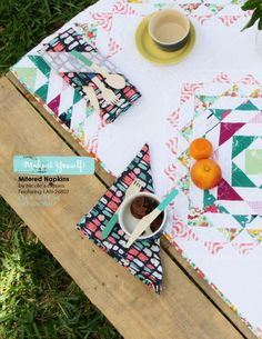 What do you think about these adorable and colorful prints? They are a MUST have in your fabric collection!   #ArtGalleryFabrics #LavishCollection #KatarinaRoccella #Colors #inspiration #AGF #napkins #TableRunner