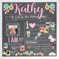 Hi Everyone! It's Kathy today with my take on the All About Me Challenge. I will admit, this challenge was... well a challenge! I had t...