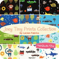 Joey Tiny Prints Collection Fat Quarter Bundle Lecien Fabrics