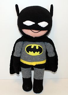"This Batman Buddy is the perfect companion for that special little hero-loving boy or girl in your life! He is 22"" tall and so much fun to hold and cuddle!"