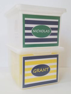 Are you looking for a simple solution to organize your children's' precious school memories? This school paper organizer has everything you need - Personalize box, collection box and 40 file tabs to customize for your child. The School Memory Box Shop - The only system you will ever need. Sibling Bundle  2 School Memory Boxes/2 Combinations PDF