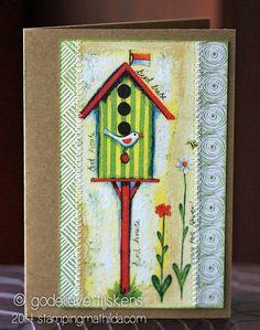 StampingMathilda: Napkin Card #1