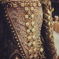 Detail, Shakespeare In Love. Judi Dench I want to make these sleeves