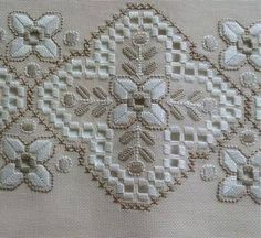 Types Of Embroidery, Learn Embroidery, Hand Embroidery Stitches, Embroidery Techniques, Embroidery Patterns, Cross Stitch Patterns, Bordados E Cia, Bookmark Craft, Bargello