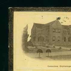 1917- Genevieve Orphanage, Shreveport, La :: LSU Libraries Postcard Collections