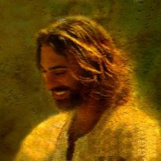 """Jesus"" I prefer to focus more on his life and how he lived, not just on how he died! I love to see a happy Jesus! It's refreshing!"