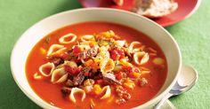 Make a batch or two of hearty soup that do double duty as dinner with these easy recipes.