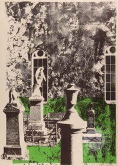 Dylwyn Church Lithograph by John Piper