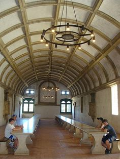 Tomar...Dining Hall in the Convento de Cristo