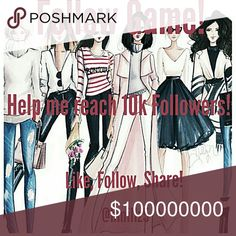 🎉🎉Follow Game! Like, Follow, Share! 🎉🎉 🌹Comment your tag lists, tag yourself, find beautiful closets filled with your favorite brands! ❤❤❤❤❤❤❤❤❤❤ ⚘Like this post, Share it, then follow, follow, follow!! 🌻Happy poshing! 🌻 Accessories