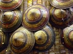 Sombrero típico en Tailandia
