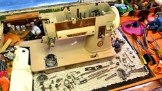 Why do we keep restoring Singer 401s?  Because we love them and so do a lot of people who know good sewing machines.