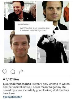 Captain America the Winter soldier, Bucky Barnes, Sebastian Stan, marvel