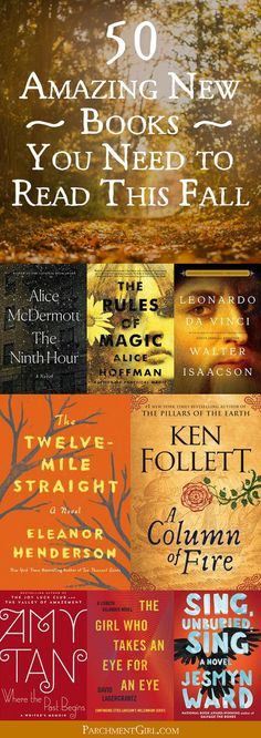 Fall is open book season. Discover all the greatest new reads from your favorite authors!
