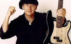 Tommy Shannon.  Texas Blues player extraordinaire