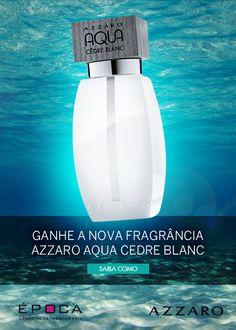 Concurso Cultural - Descubra e Ganhe a nova fragrância de Azzaro, Aqua Cedre Blanc