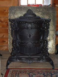 Barnstable Stove - Early Antique Stoves, Antique Coal, Wood, Kitchen and Parlor Stove