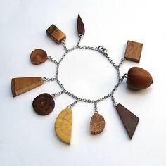 Retiazkový náramok s drievkami / wlkr - SAShE. Pendant Necklace, Jewelry, Fashion, Moda, Jewlery, Jewerly, Fashion Styles, Schmuck, Jewels
