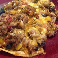Deb's Tastefully Simple Recipes: Mexican Tortilla Casserole