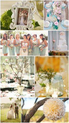 2012 Wedding Trends: Shabby & Chic Spring Wedding Themes