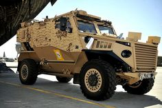 Foxhound Patrol Vehicle Arrives in Afghanistan by Defence Images, via Flickr