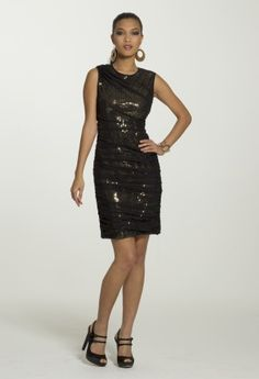 Homecoming Dresses - Ruched Mesh Dress from Camille La Vie and Group USA