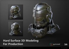 Hard Surface 3D Modeling For Production Tutorial by Chung Kan   Sci-Fi   3D   CGSociety