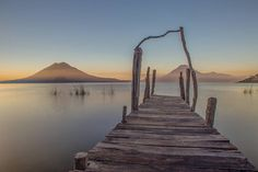 One of our photos from our last sunrise on the shores of Lago Atitlán we spent a few months here learned some Spanish climbed some volcanoes and met so many amazing people so long Lago Atitlán!  #lagoatitlan #Guatemala #sunrise #dock #early #morning #longexposure #atitlan #volcantoliman #volcansanpedro #laguna #volcano #dawn #early #worththeearlywakeup #ineedcoffee  #neverstopexploring #wanderlust #whateveryouradventure #travel #instatravel #camping #HomeIsWhereYouParkIt #lifeontheroad…