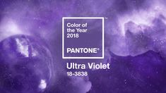 Purple Is The Color Of The Year For 2018 : The Two-Way : NPR