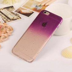 Protéger votre iPhone 6/6S avec cette coque originale effet 3D goutte de pluie en relief. Accès facile à toutes les fonctionnalités. Faites la pluie et le beau temps en matière de customisation iPhone! Coque rigide ultra fine  effet 3D goutte de