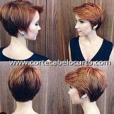 Hottest Pixie Haircuts 2019 - Classic to Edgy Pixie Hairstyles for women Layered long red pixie haircut for women Over long red pixie haircut for women Over Short Layered Haircuts, Bob Haircuts For Women, Short Hairstyles For Women, Short Hair Cuts For Women Easy, Hairstyle Short, Style Hairstyle, Short Cuts, Hairstyle Ideas, Red Pixie Haircut