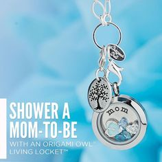 Origami Owl baby shower and push gift ideas!