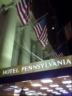 Hotel Pennsylvania- kinda sketchy but good price