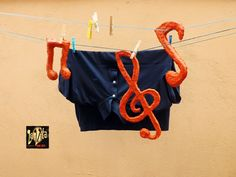 LaVita Music Gifts: NOTAS MUSICALES PARA DECORACIÓN
